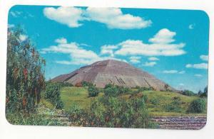 Mexico Piramides de San Juan Teotihuacan Pyramid Postcard