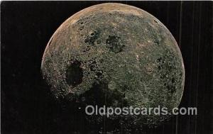 Space Postcard Post Card  Apollo 8 Moon View Space Postcard Post Card