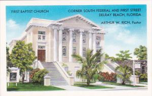 First Baptist Church Corner South Federal And First Street Delray Beach Florida