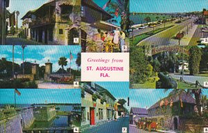 Greeting From Saint Augustine Florida 1977
