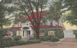 Pennsylvania Indiana Home Of Jimmie Stewart 1964 Curteich