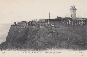 Seine Maritime, France, 00-10s; Lighthouse, Cap De La Heve, Le Phare Et Les Fala