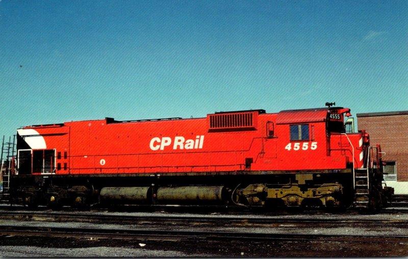 Trains Canadian Pacific M630 Locomotive #4555