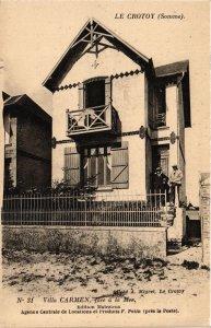 CPA LE CROTOY Villa CARMEN (868970)