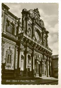 Lecce, Italy 30-50s, Chiesa S. Croce