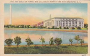 Washington D C New Bureau Of Printing & Engraving On Potomac River Basin