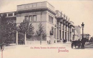 Les Musees Royaux de peinture et sculpture, Bruxelles , Belgium