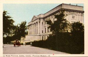 Canada Quebec Provincial Museum