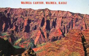 HI - Kauai. Waimea Canyon