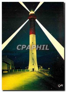 Modern Postcard The Cote de Beaute Night Effect on Lighthouse Coubre Ch Ms.