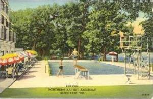 The Pool, Northern Baptist Assembly, Green Lakes, Wisconsin, 1930-1940s