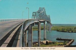 Georgia Savannah The Eugene Talmadge Bridge