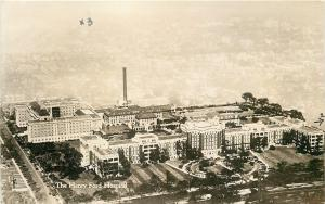 Detroit MI~Henry Ford Hospital Aerial View 1932 Real Photo? Postcard~Hotrum