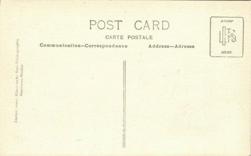 indonesia, SUMATRA, Native Bride and Groom Wedding (1910s) RPPC Postcard