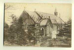 tp6455 - Weeton Church , Lancashire - postcard