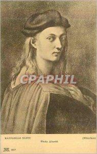 Postcard Old Munchen Raffaello Santi Bindo Altoviti