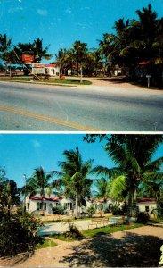 Florida Riviera Beach The Miramar Court 1960