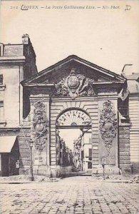 France Rouen La Porte Guillaume Lion