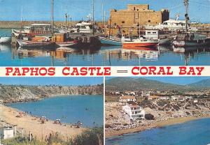 Cyprus Paphos Castle Coral Bay Chateau Baie Corail