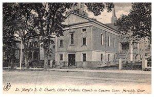 Connecticut Norwich , St.Mary's Roman Catholic Church