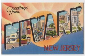 Large Letter NEWARK NJ