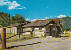 Canada Galbraith's Ferry Office on Main Street Fort Steele British Columbia