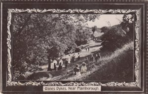 Danes Dykes , FLAMBOROUGH , England , 1913