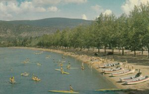 PENTICTON , B.C. , Canada , 1950-60s ; Bathing Beach