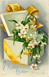 Greeting - Easter. Artist Signed: Clapsaddle