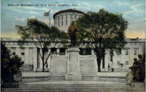 McKinley Monument and State House Columbus OH 1925