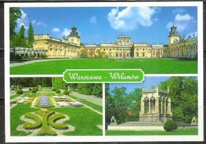 Poland, Warsaw, The Royal Palace, unused