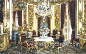 Speisezimmer Germany, Deutschland Postcard Kgl Schloss Linderhof Speisezimmer...