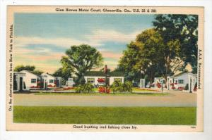 3159 GA Glenville  Glen Haven Motor Court  Motel