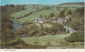 Post Card Devon Dartmoor Dartmeet