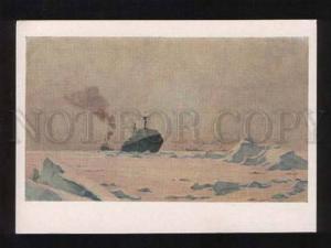 054565 Lenin Atomic ice-breaker in Arctic Vitomskiy