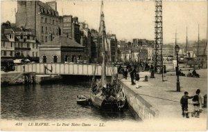 CPA Le Havre Le Pont Notre Dame (992912)