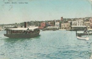 MALTA , 1900-10s ; Sliema - Landing Place