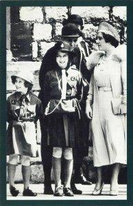 Nostalgia Postcard c1948 Princess Elizabeth & Princess Margaret Repro Card NS24