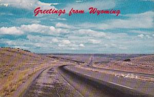 Interstate 80 Greetings From Wyoming