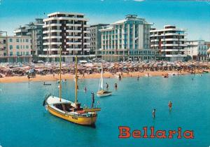 Spain Bellaria Hotels and Beach Seen From The Sea