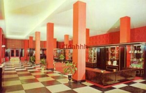 THE COLORFUL LOBBY OF THE HOTEL MARION, LITTLE ROCK, AR. 1965