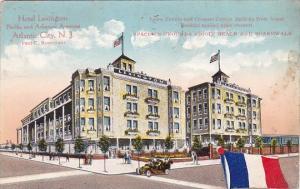 New Jersey Atlantic City Hotel Lexington Pacific And Arkansas Avenue 1916