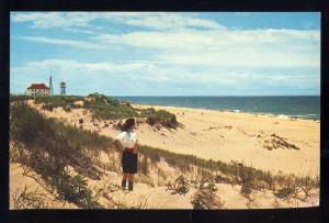 Provincetown, Mass/MA Postcard, Race Point Lighthouse/Light