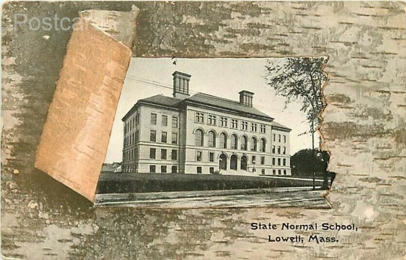 MA, Lowell, Massachusetts, State Normal School