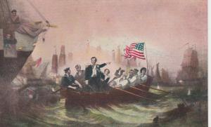Battle Of Lake Erie, Washington, DC - Powell Painting in Capitol - DB