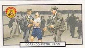 Symonds Vintage Trade Card Sporting Trivia 1998 Dorando Pietri 1908