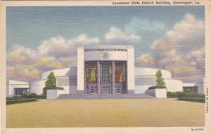 SHREVEPORT, Louisiana, 30-40s; Louisiana State Exhibit Exhibit Bldg