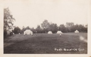 RP: PORT BOLSTER , Ontario , Canada , 20-30s ; Tents