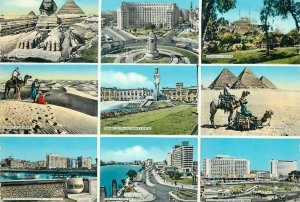 Souvenir Postcard Africa sightseeing & sites different aspects