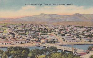 Bird's Eye View Of Ciudad Juarez, Mexico, 1930-1940s